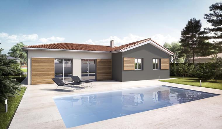 Maison neuve 3 chambres aux portes de bordeaux for Constructeur bordeaux