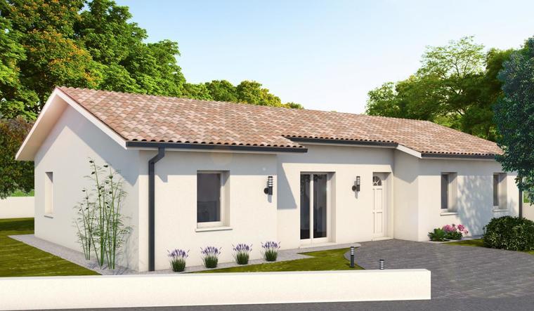 Maison 4 chambres à LEOGEATS - constructeur de maisons Bordeaux