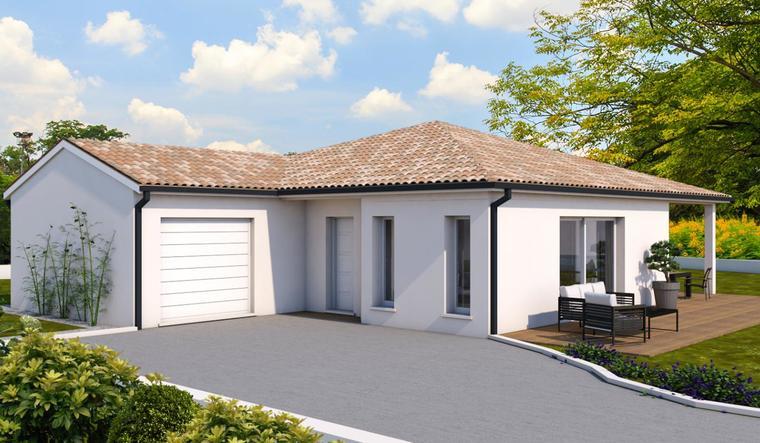 Projet à Lavardac - constructeur de maisons Agen