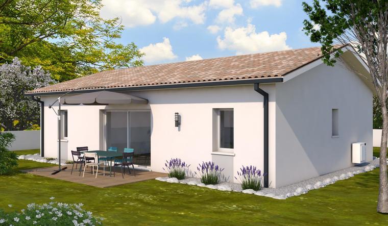 Maison garage constructeur de maisons bordeaux for Constructeur maison bordeaux